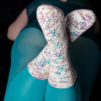 "Strickanleitung ""Nectar Socks"""