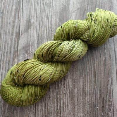 Donegal Sockenwolle Handgefärbt Frosch
